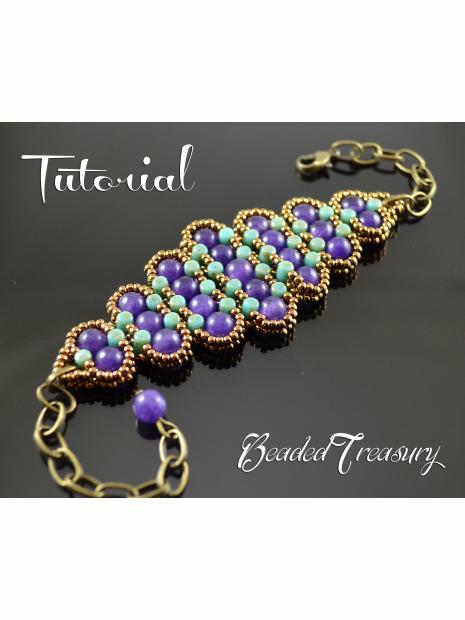 History Beadwoven Bracelet Tutorial Rulla Bead Pattern Seed Beading Beaded Only Beadedtreasury